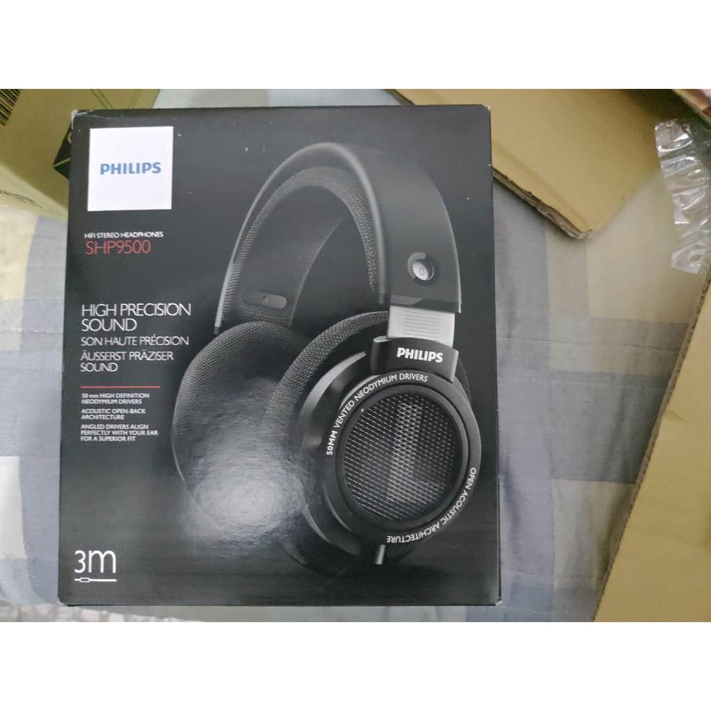 全新現貨 飛利浦 Philips SHP9500 頭戴式耳機