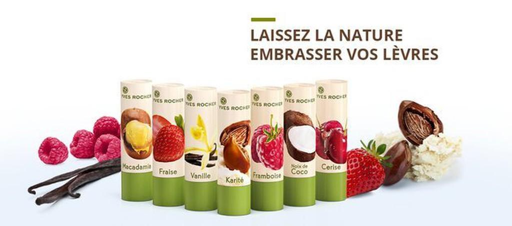 ~Bonjour Bio ~法國Yves Rocher 護唇膏7款香草椰子乳木果澳洲堅果草