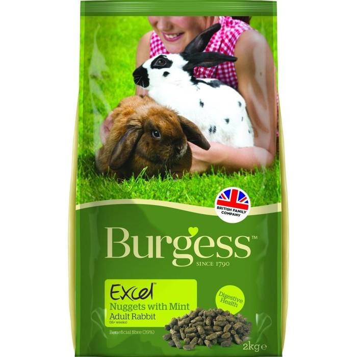 伯爵Burgess 高機能兔飼料成兔薄荷葉成兔奧勒岡葉2kg