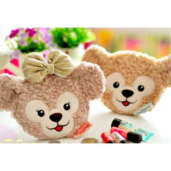 超可愛達菲熊duffy 雪莉玫shelliemay 米奇熊零錢包