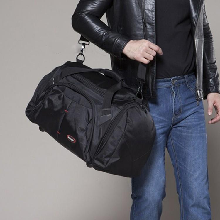 ~千惑衣閣~包郵超大容量手提旅行包男女商務出差行李包單肩旅行袋防水旅游包