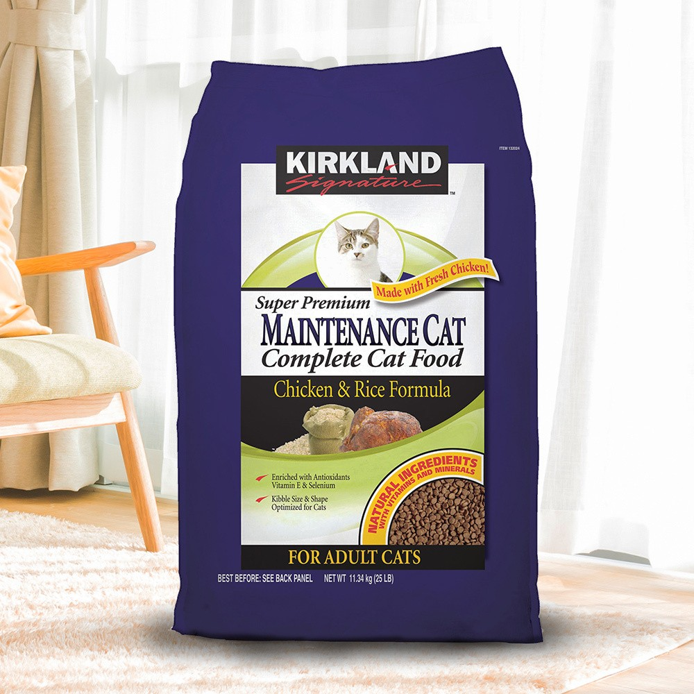 Costco 好市多Kirkland Signature 科克蘭雞肉米配方乾貓糧11 34