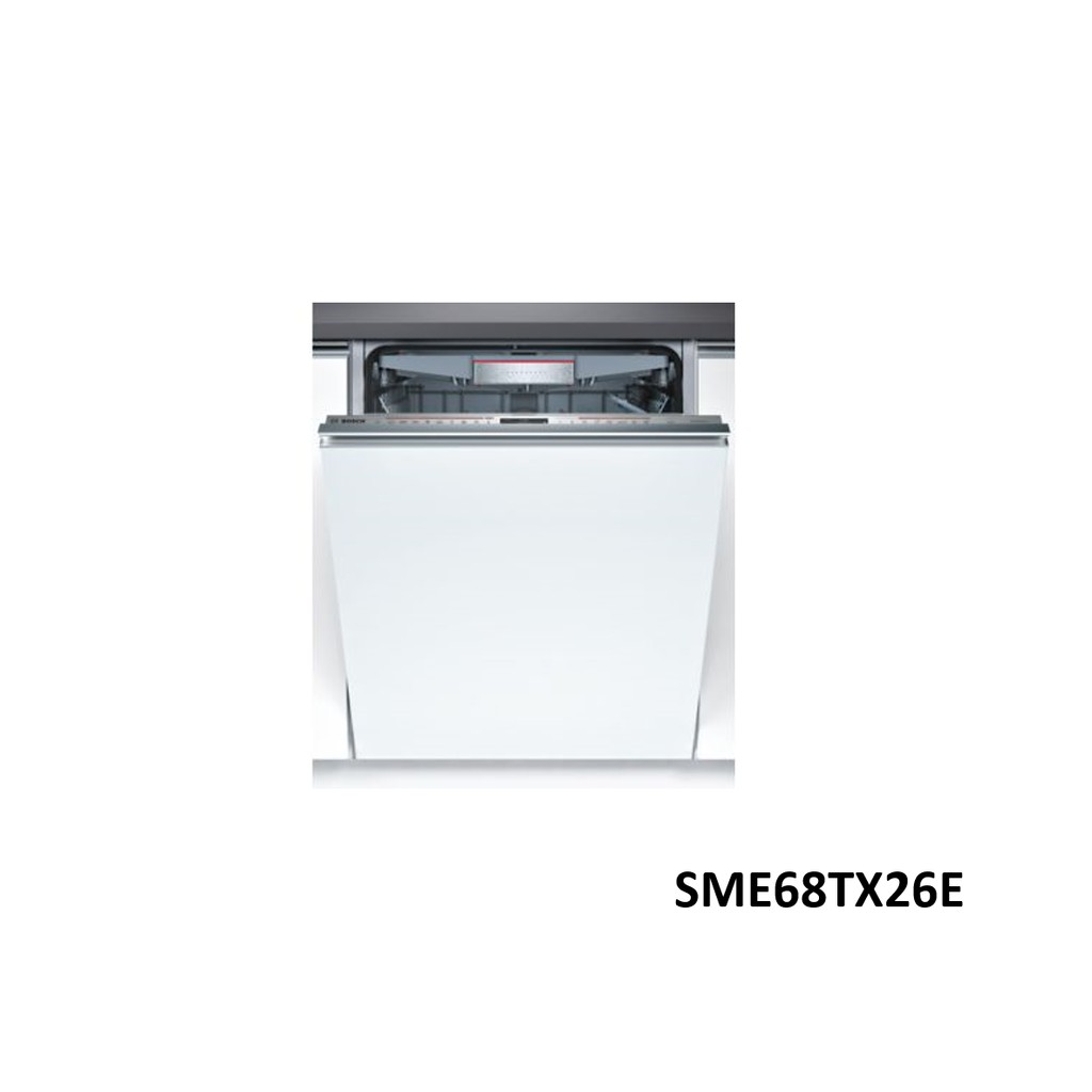 BOSCH 博世 SME68TX26E 60公分 全嵌式 沸石 洗碗機