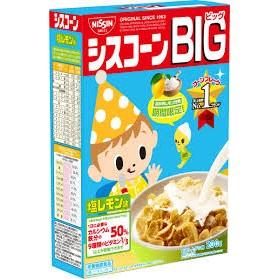效期2017 2 |~日清早餐麥片BIG 檸檬鹽味200g ~|愛子森林