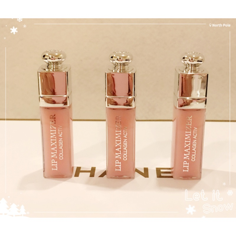 Dior 迪奧豐漾俏唇蜜2ml 精巧版001 pink ✨特惠組拆售✨效期2018 後