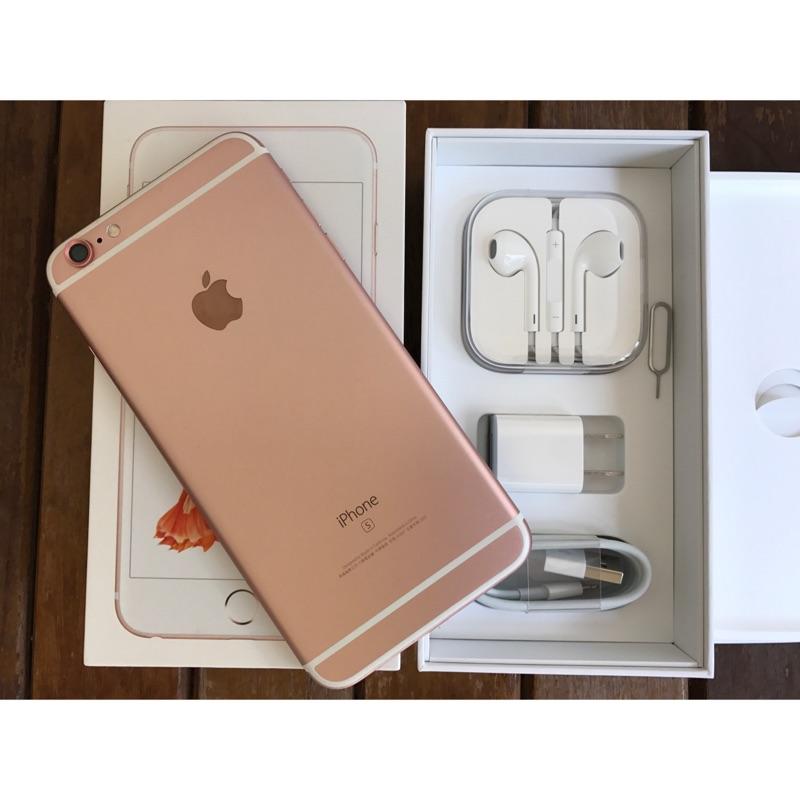 朋友託售iPhone 6s Plus 128g 玫瑰金 內外觀完全無傷9 9 成新北市 面