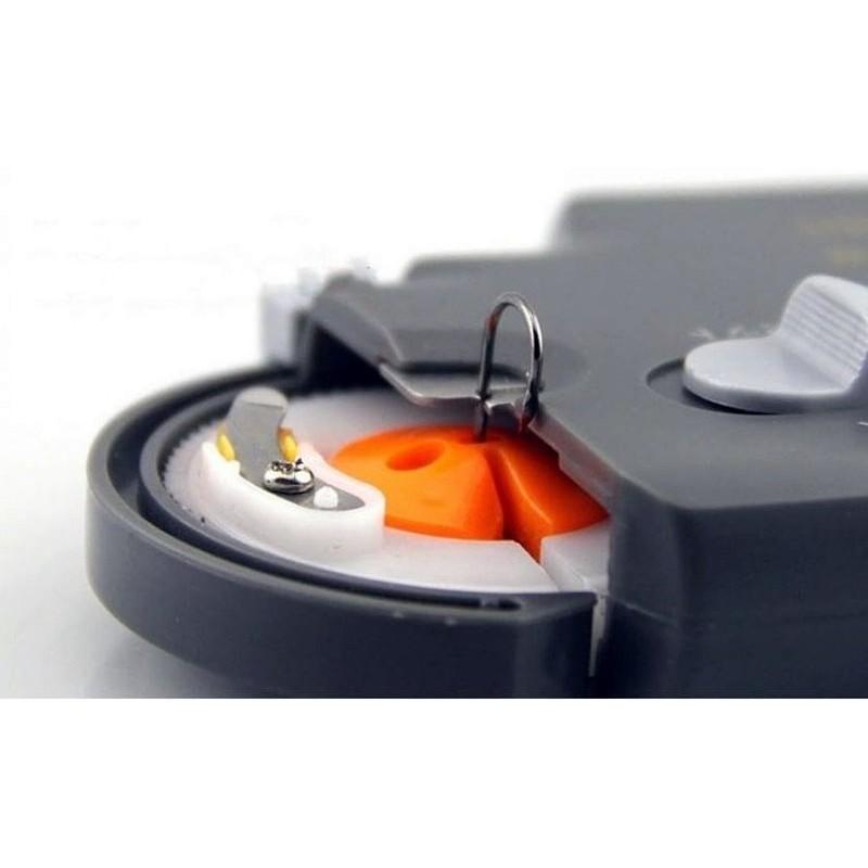 老頑童雜貨鋪釣魚釣蝦 AX218 超薄電動綁鉤器,30 秒綁好一個鉤,方便