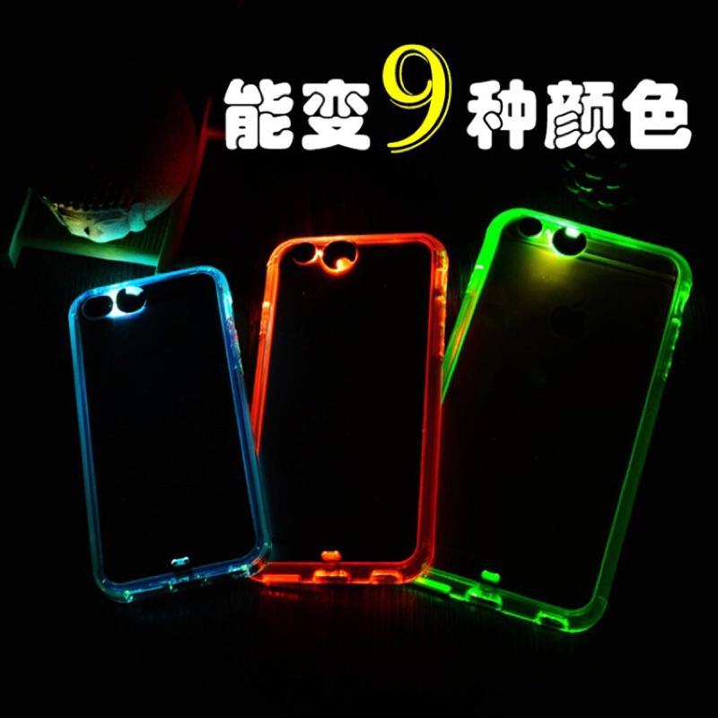 I PHONE6 6S PLUS 贈掛繩發光殼,來電發光,來電LED 燈,可變九種顏色,耐