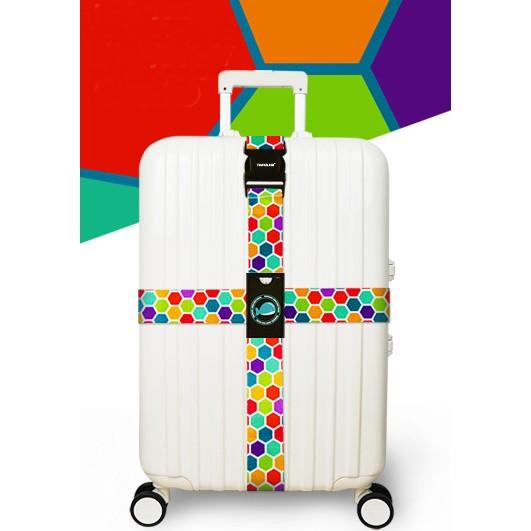 ~JoGood ~ Travelkin 行李箱十字束帶加寬行李束帶行李打包帶行李箱綁帶