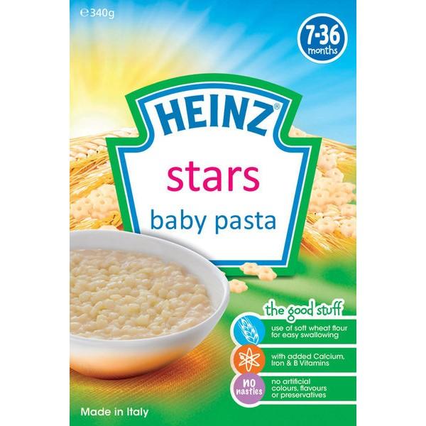 亨氏HEINZ 寶寶星星義大利麵340g 售動物義大利麵手指餅乾