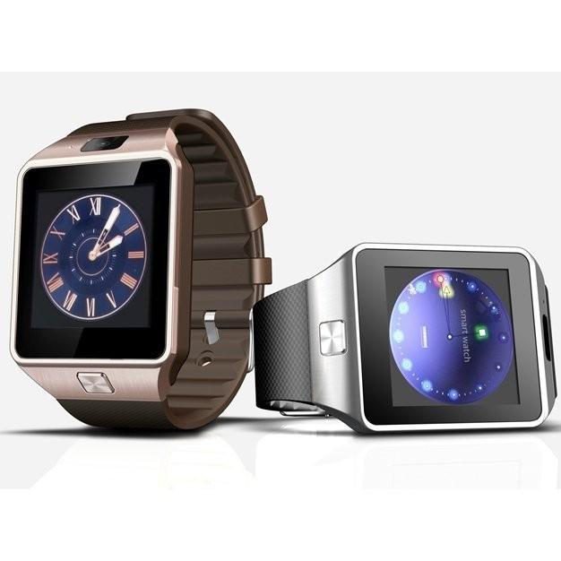 版DZ09 智慧手錶3D 加速計步防盜插卡超高清炫彩LCD 屏手機藍牙手錶計步器、氣壓計、