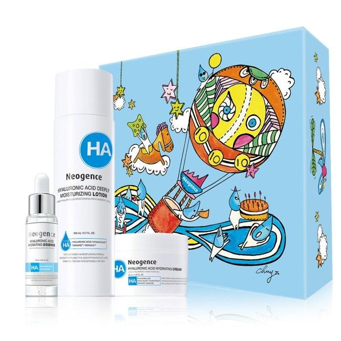 Neogence 霓淨思十週年極效潤澤保濕組深度潤澤化妝水保濕原液保濕乳霜特惠699 元