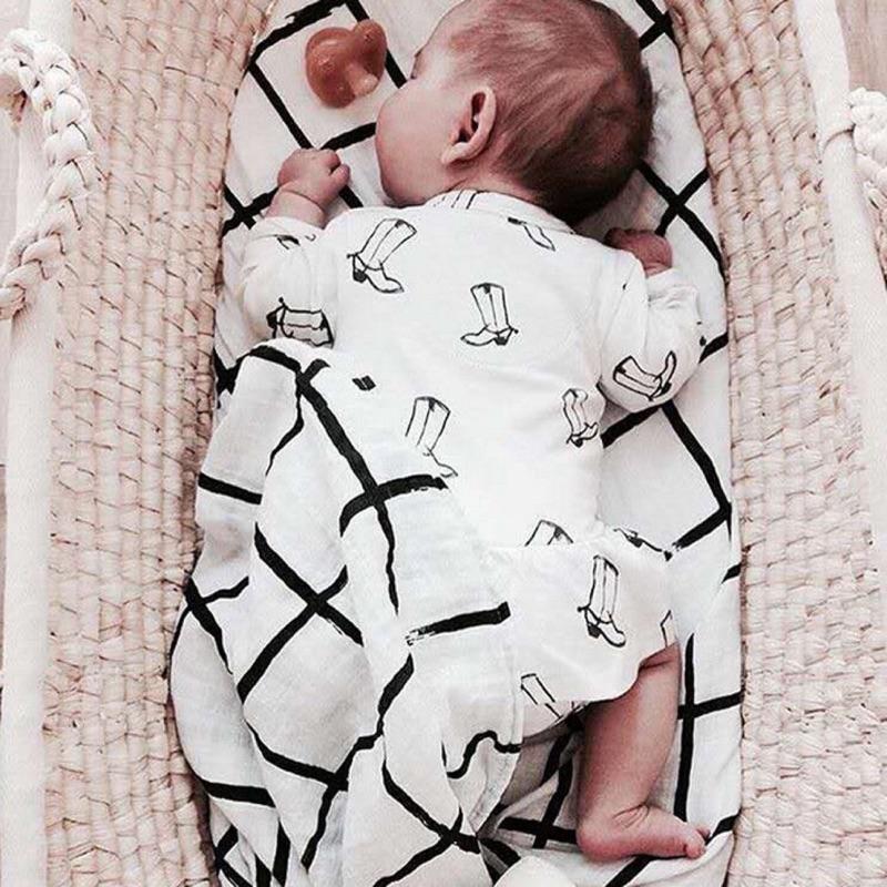 曈曈Baby INS 爆款秋裝薄款長袖裙擺印花高跟鞋女寶寶連體哈衣嬰兒爬服