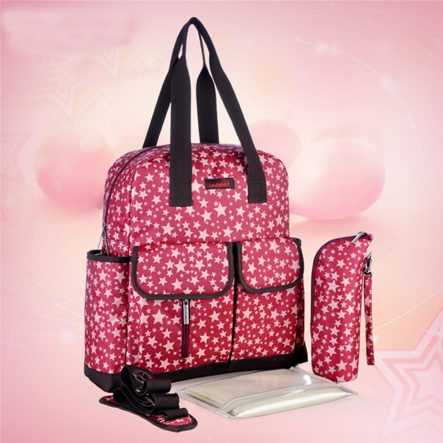 多 大容量雙肩媽咪包防水抗菌手提母嬰用品媽咪包