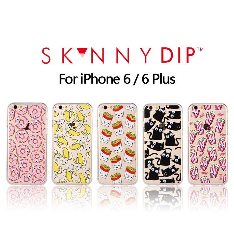 Apple 蘋果 英國潮牌Skinnydip London 爆米花薯條甜甜圈香蕉黑貓大眼睛