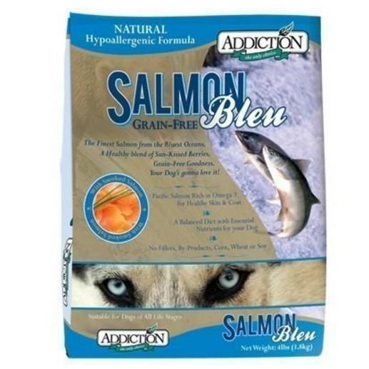 紐西蘭ADDICTION 自然癮食無穀藍鮭魚成犬飼料1 8 公斤一包820