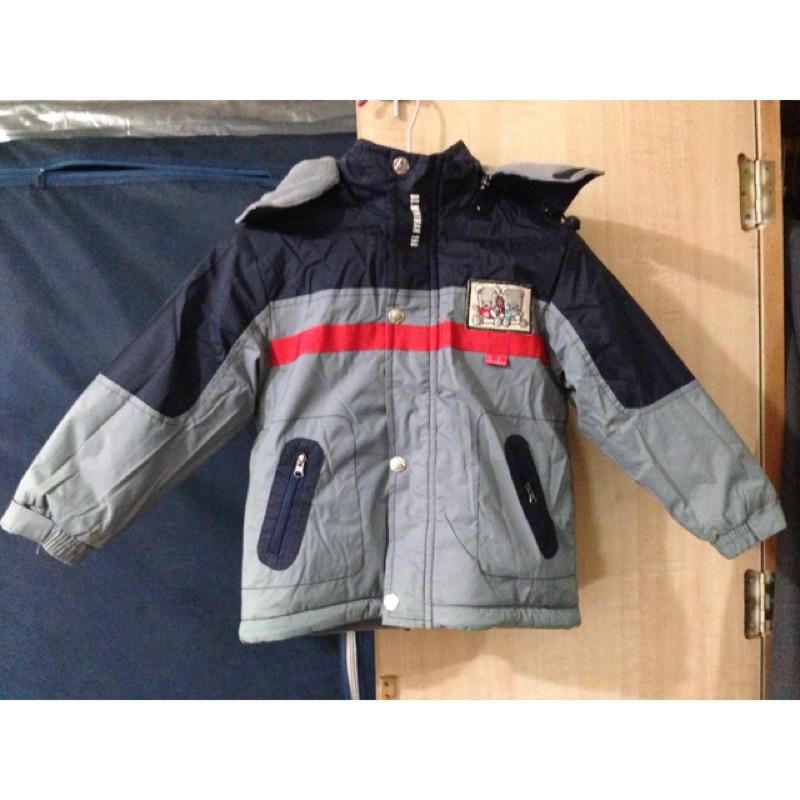 近 男童內鋪棉保暖外套17