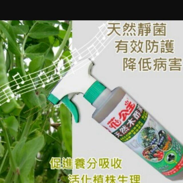 尋花趣花公主木醋液500ml 瓶免稀釋白粉病剋星具有天然靜菌效果,可降低病菌孳生