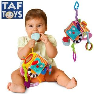 限定 245 至10 15 2015 新品以色列TAF toys 感知訓練多 積木床頭推車