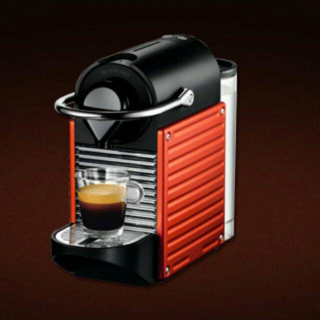 NESPRESSO PIXIE C60 膠囊咖啡機,9 成新
