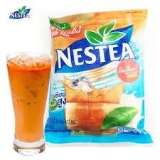 藍天小舖 店面  出貨Nestea 雀巢奶茶泰式奶茶泰國奶茶Thai tea 35gx13