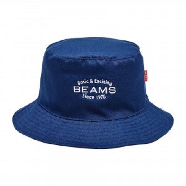 蝦覓好物 日雜BEAMS 男女兼用BEAMS 刺繡LOGO 海軍藍漁夫帽NO B0800