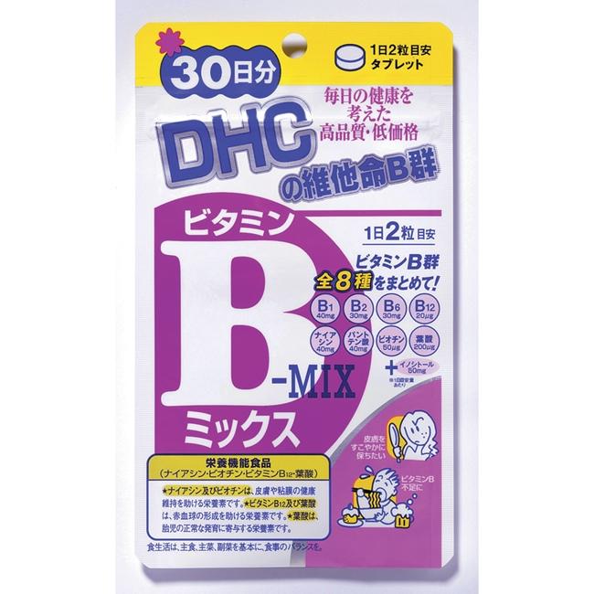 DHC維他命B群30日份-60粒