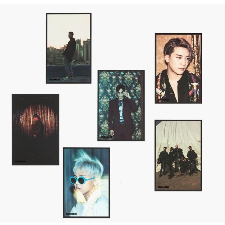 BIGBANG 十週年官方明信片套組
