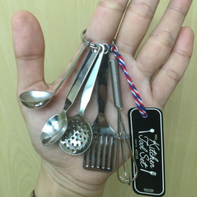 Kitchen Tool Set 廚房用具鑰匙圈