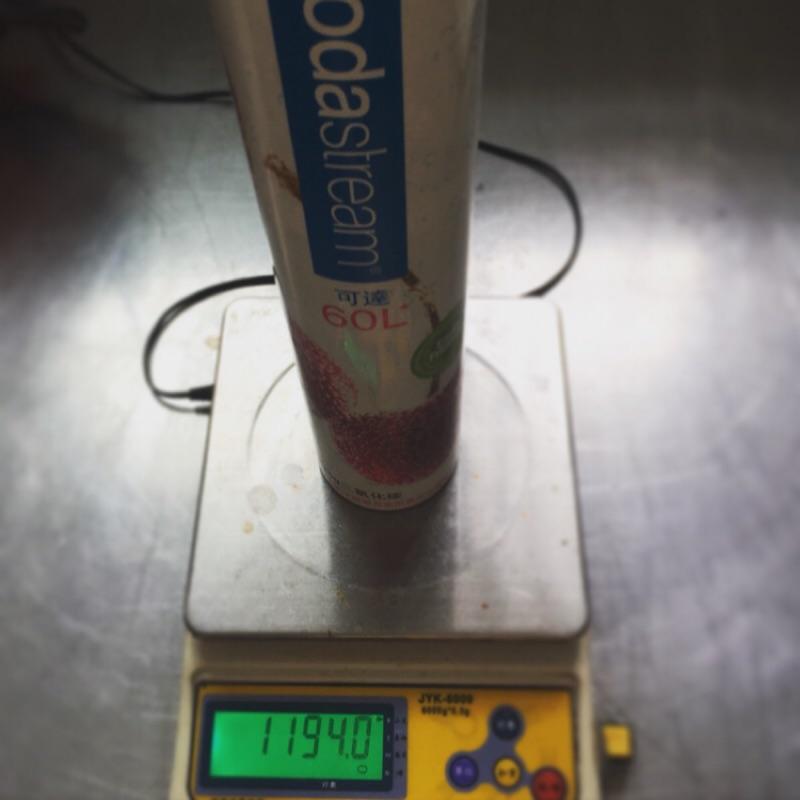 YangKing CO2 Soda stream 氣泡水機鋼瓶填充食品級CO2 氣體二氧化