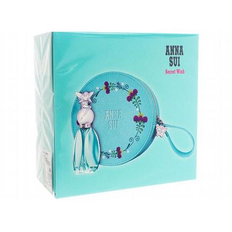 Anna sui 安娜蘇~許願精靈禮盒組(淡香水30ml+化妝包x1)【小7美妝】