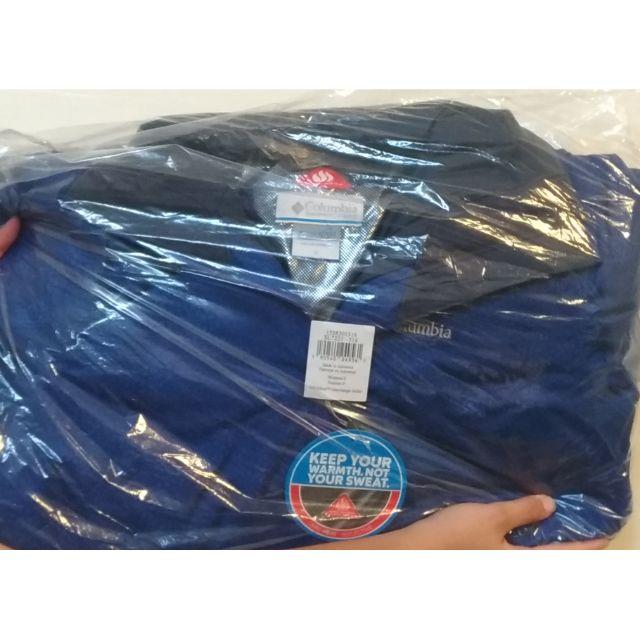 Columbia 二件式防水透氣保暖(鋁點)外套(女)