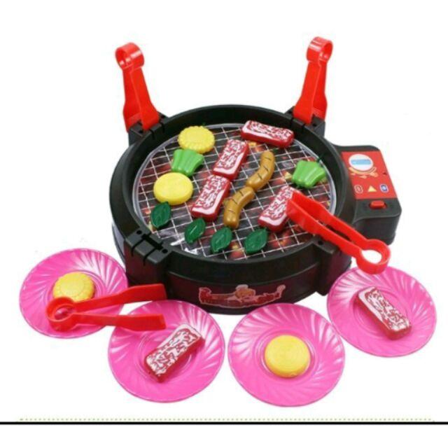 桌上型烤肉爐~會滋滋作響喔類桌遊BBQ 廚房玩具最正點