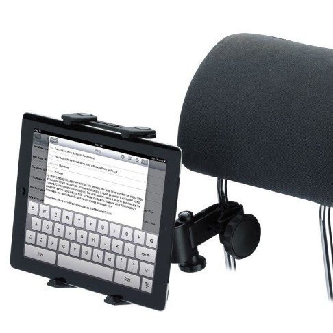 T 【NFX2 汽車頭枕車載平板電腦支架】車載平板電腦後枕雙用支架ipad 平板後座支架手