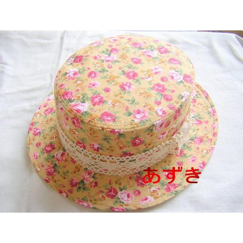 日系鄉村風硬版小碎花圖騰小禮帽系列米黃區紙箱寄件