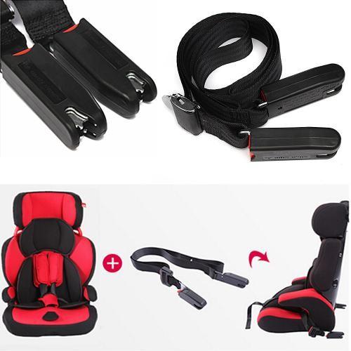 可調節兒童汽車安全座椅固定帶isofix 介面連接帶