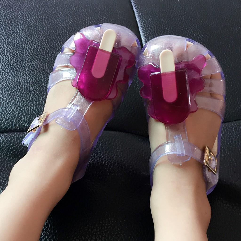 梅麗莎果凍童鞋mini melissa 香香鞋冰棒霜淇淋寶寶涼鞋