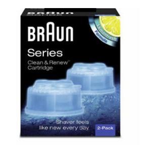 貨德國百靈BRAUN 匣式清潔液CCR2 2 入1 盒組CCR 2 清新檸檬