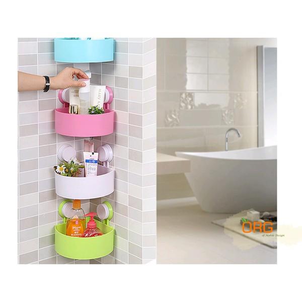 ORG ~SD0319 ~強力吸盤多 三角浴室廚房收納架置物籃置物盒置物架收納盒沐浴乳轉角