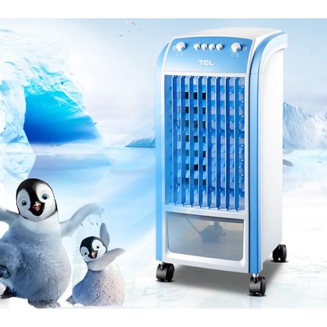 ♡空調扇單冷風扇加濕製冷風機遙控定時移動水冷氣扇小空調~