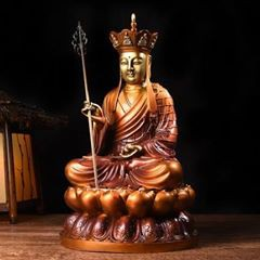 免 彩銅地藏王菩薩守護神像佛像佛教拜拜純銅黃銅像宗教文物本命佛教用品發財求財招財轉運風水