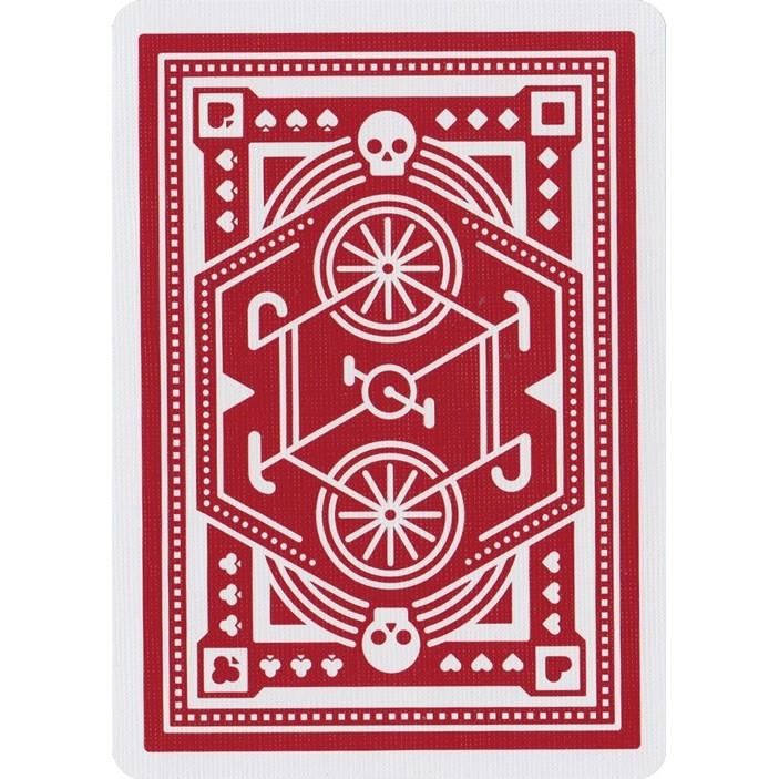 ~USPCC 撲克~撲克牌DKNG Red Wheel