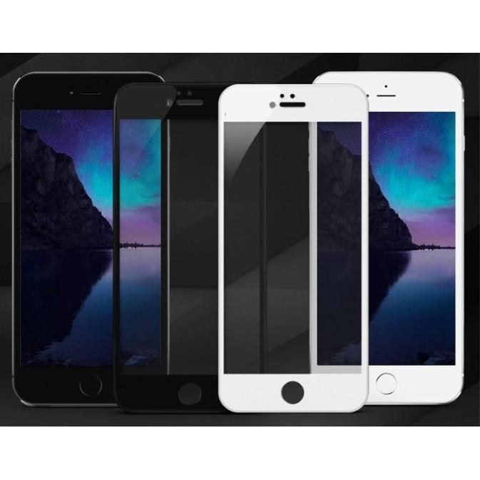 I PHONE 6S I PHONE 6S PLUS 滿版防爆鋼化玻璃保護貼黑白金玫瑰金