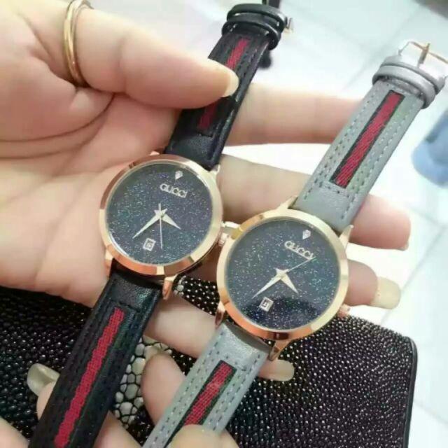 Gucci 女表古馳滿天星女士腕錶