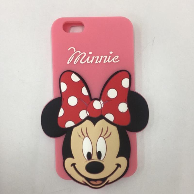 Disney 迪士尼米妮Minnie 矽膠 手機殼IPHONE 6 6s plus 5 5