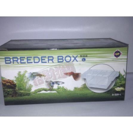 招財進寶L 繁殖隔離產卵盒飼育箱孵化孔雀魚小型魚幼魚治療孵化魚缸水族水草缸