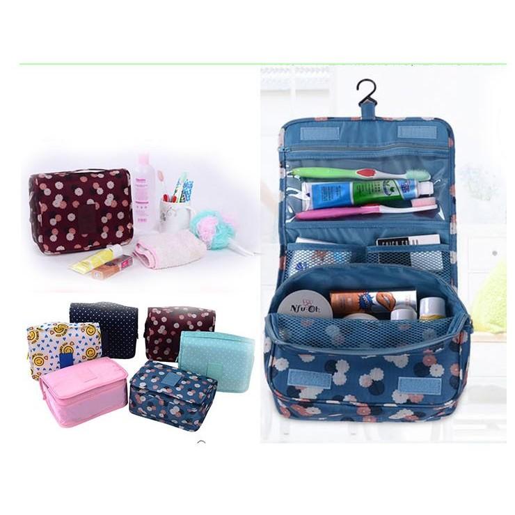 掛式出差旅行收納化妝包盥洗包~STAR 小舖~旅行洗漱包防水PVC 盥洗包旅行收納包便攜式
