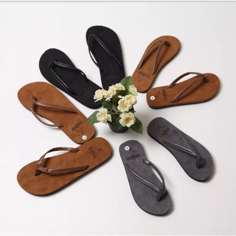 ✨夏天簡約情侶夾腳拖鞋