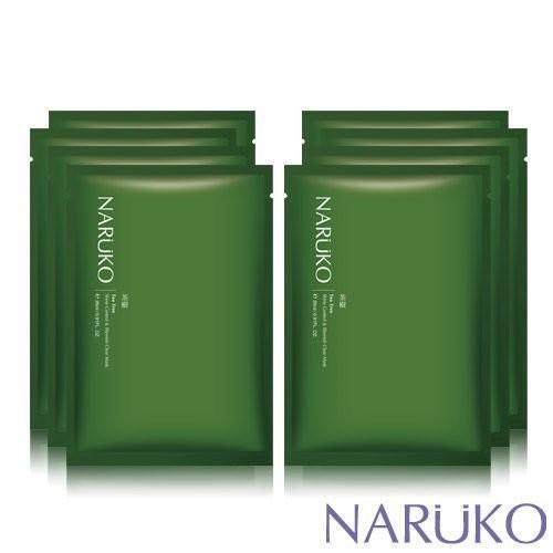 牛爾茶樹NARUKO 茶樹神奇痘痘黑面膜抗痘控油保濕無盒8 入