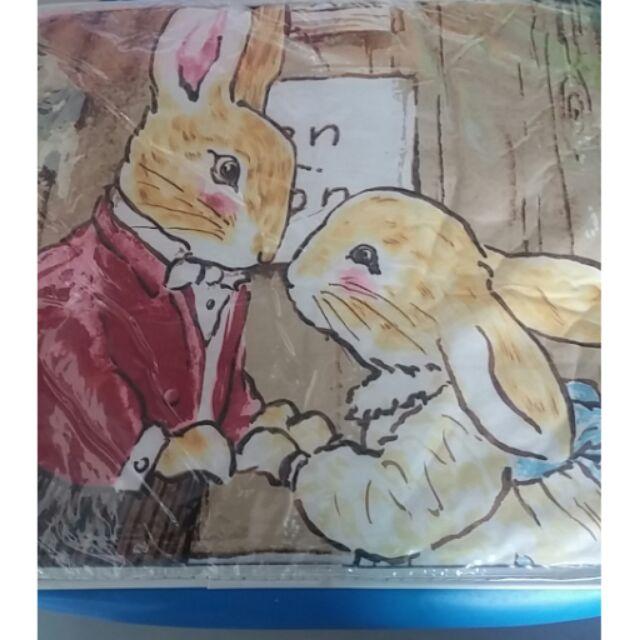 狐狸村卡通雙人床包組